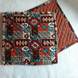 Set of 2 new handmade hot pads